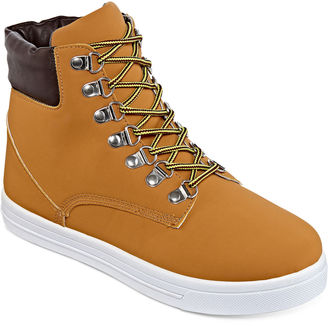 Bamboo Salamander Lace-Up Boots $50 thestylecure.com