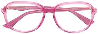 Gucci round oversized glasses