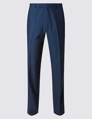 Marks and Spencer Big & Tall Indigo Modern Slim Fit Trousers