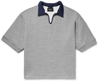 Fear Of God Contrast-Trimmed Loopback Cotton-Blend Jersey Polo Shirt