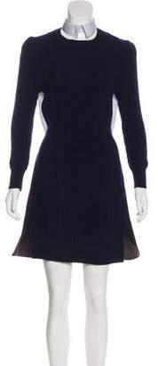 Sacai Wool Mini Dress w/ Tags