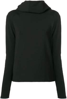 Paco Rabanne bodyline hoodie top