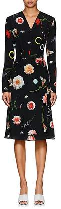 Narciso Rodriguez Women's Floral Silk Dress