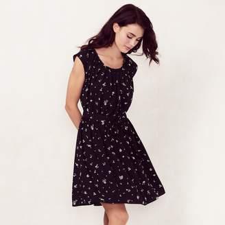 Lauren Conrad Women's Love, Lauren Pleated Shift Dress