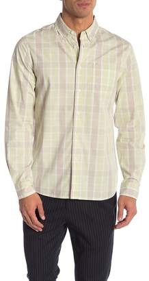 Saturdays NYC Crosby Madaras Plaid Long Sleeve Shirt