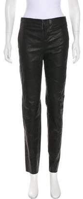 Les Chiffoniers Leather Skinny Pants w/ Tags