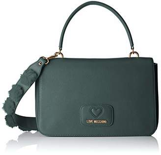 Love Moschino Borsa Pu+poliestere, Women's Shoulder Bag,6x19x29 cm (B x H T)