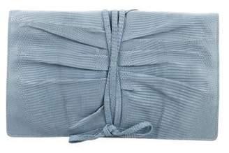 Ralph Lauren Lizard Tie Around Clutch