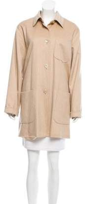 Max Mara Button-Up Camel Jacket