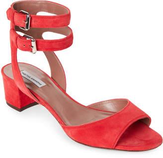 Tabitha Simmons Aimee Suede Block Heel Sandals