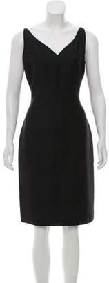 Bill Blass Sleeveless Knee-Length Dress
