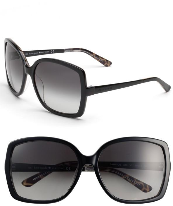 Kate Spade New York 'darryl' 59mm Oversized Sunglasses