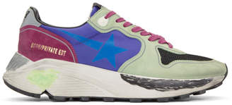 Golden Goose SSENSE Exclusive Multicolor Thursday Running Sneakers