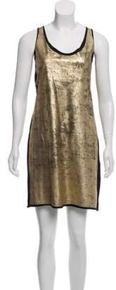 Tory Burch metallic Sleeveless Dress