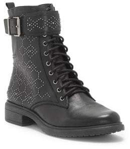 Vince Camuto Tanowie Leather Lace-Up Boots