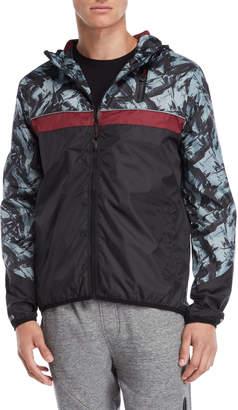 Soul Star Zip-Up Windbreaker Jacket