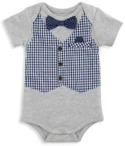 Elegant Baby Baby's Boxed Mock Vest Bodysuit