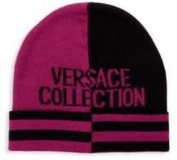 Versace Colorblock Beanie