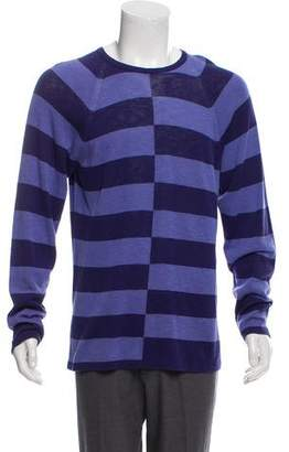 Armani Collezioni Checkered Crew Neck Sweater w/ Tags
