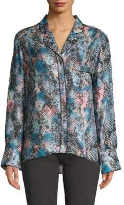 Zadig & Voltaire Tacha Button-Down Shirt