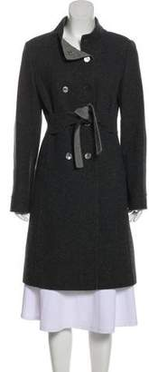 RED Valentino Virgin Wool Double-Breasted Coat
