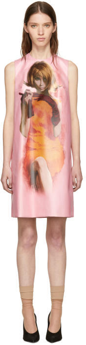 Prada Pink Poster Girl Dress