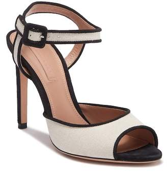 BOSS Canvas High Heel Sandal