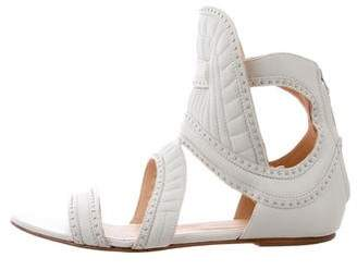 IRO Xanka Leather Ankle Sandals