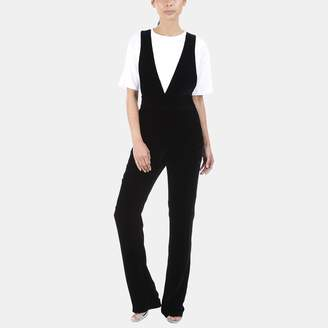 3x1 Ella Cross Back Velvet Jumpsuit