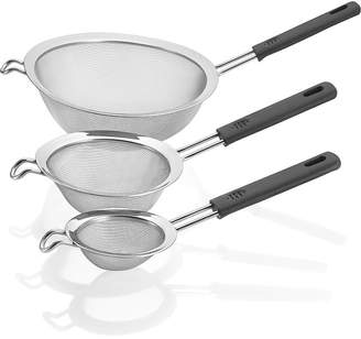 Polder Inc. 3-pc. Mesh Handled Strainer Set
