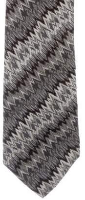 Missoni Patterned Silk Tie