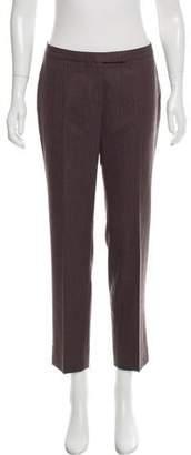 Peserico Mid-Rise Herringbone Pants w/ Tags
