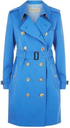 Burberry Kensington Wool Trench Coat