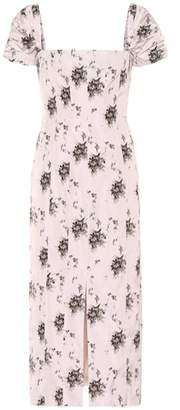 Brock Collection Floral midi dress