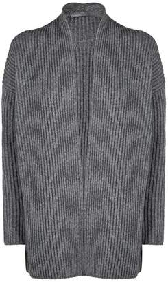 Vince Ribbed Knit Button Cardigan
