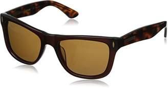 Hang Ten Gold Classic Wayfarer HTG1006 C2 Polarized Round Sunglasses