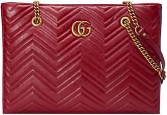 b9b46e9e9975 Gucci GG Marmont matelassé medium tote