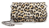 Zadig & Voltaire Nano Rock Snake Embossed Leather Clutch