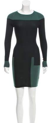 Alexander Wang Colorblock Knit Dress