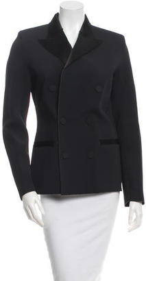 Jean Paul Gaultier Notched Lapel Double-Breasted Jacket $130 thestylecure.com
