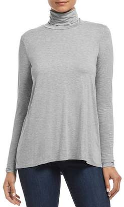Three Dots Relaxed Turtleneck Tee