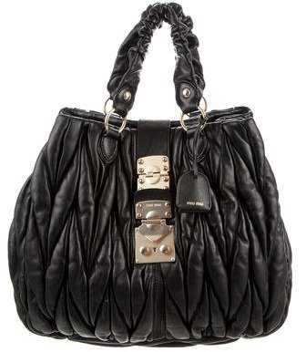 Miu Miu Miu Miu Small Coffer Satchel