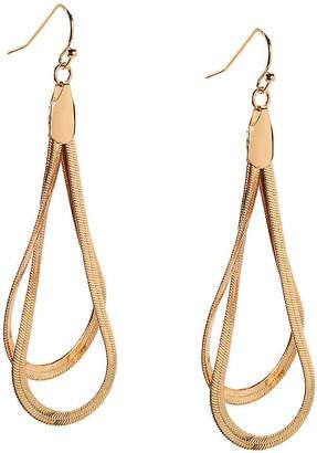 Kelly & Katie Snake Chain Teardrop Drop Earrings - Women's