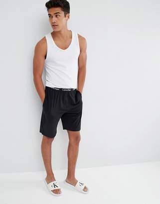 Calvin Klein woven lounge shorts in regular fit