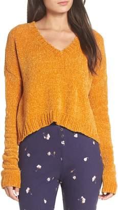 Make + Model Crop Chenille Sweater