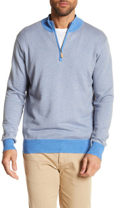 Peter Millar Cashmere Blend Quarter Zip Sweater $165 thestylecure.com