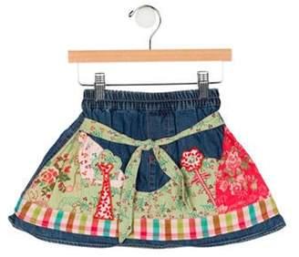 Oilily Girls' Printed Skirt blue Girls' Printed Skirt