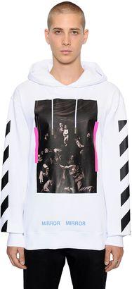 Caravaggio Hooded Cotton Sweatshirt $540 thestylecure.com