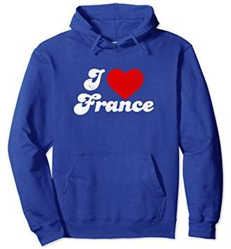I Heart I Love France Vacation Hoodie French Vacation Shirt