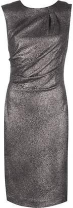Alberto Makali metallic midi dress